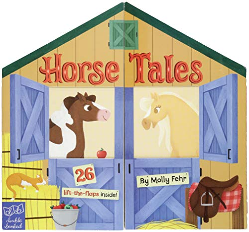 Horse Tales: Double Booked: 26 lift-the-flaps inside! (Kid's Game Books, Board Book for Toddlers)