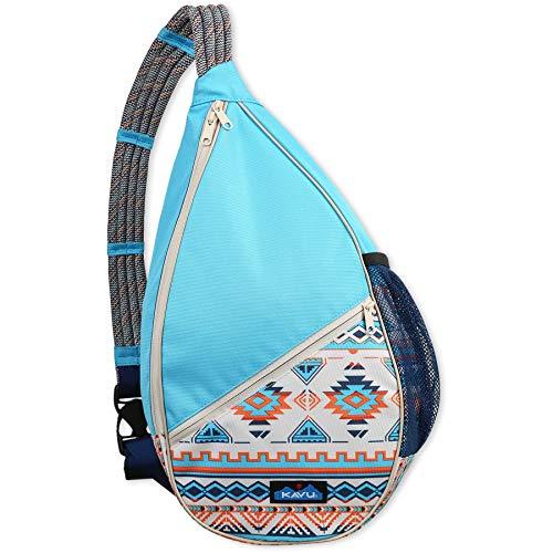 KAVU Paxton Pack Rope Sling Crossbody Bag-Horizon Range