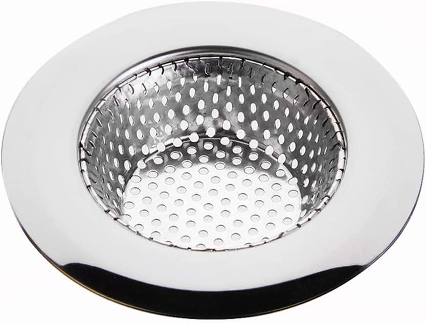 Small Lanceasy Filtre /à Cheveux en Acier Inoxydable pour /évier de Cuisine et Salle de Bain