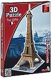 Simba 106137297 - Puzzle en 3D diseño Torre Eiffel [Importado de Alemania]