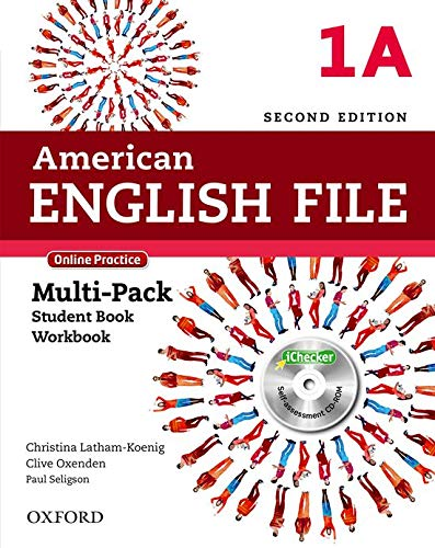 American English File - Level 1a. Multi-Pack. Online Practice (+ iCheker): With Online Practice and iChecker