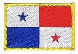 Flaggen Aufnäher Panama Fahne Patch + gratis Aufkleber, Flaggenfritze®