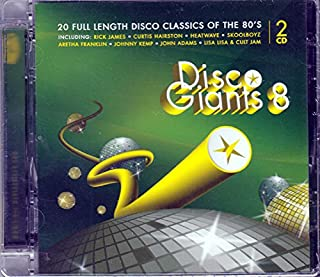 80s Funk & Disco (Extended Versions, Maxi Mixes, Full Length) (Compilation CD, 20 Tracks)