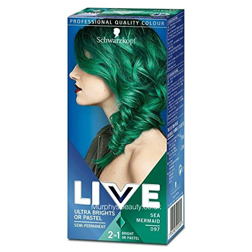 Schwarzkopf LIVE Ultra Brights or Pastel Sea Mermaid 097 Schwarzkopf