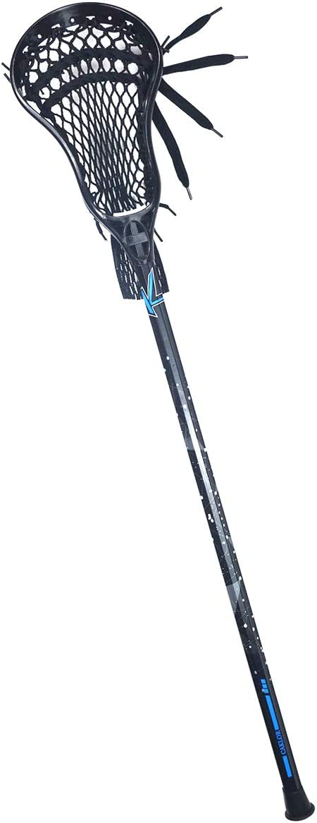 CAKLOR Lacrosse Complete Attack/Midfield Stick with Shaft & Head Mens-1 Stick,Black : Sports & Outdoors