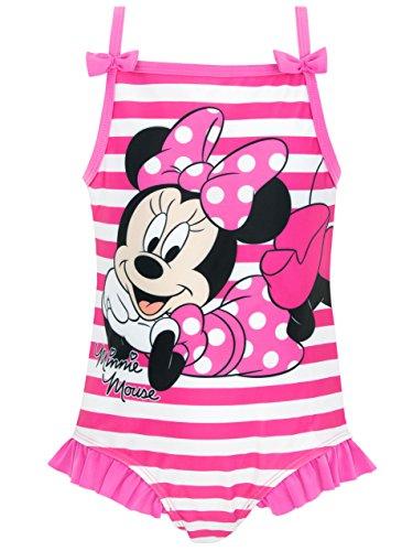 Disney Minnie Mouse Mädchen Minnie Mouse Badeanzug 104