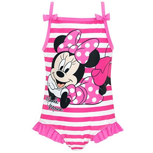 Disney Costume Da Bagno Minnie Mouse Per Bambine E Ragazze {Rosa 18 - 24 Mesi}