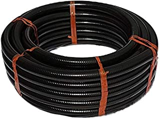Heavy Duty Metric Smooth Black Pond Hose 32mm or 1'' 1/4'', 82 Ft (25m) Roll