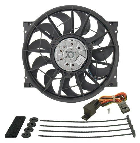 Derale 16925 High Output Radiator Fan,Black