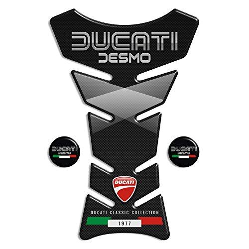 Tankpad Motorad Draht Muster Tankschutz ' Ducati klassische Kollektion Ducati Desmo'' Polymer 3D