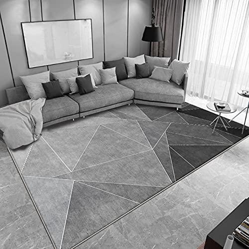 Moderno argento grigio modello tappeto soggiorno sala da pranzo camera da letto camera da letto...