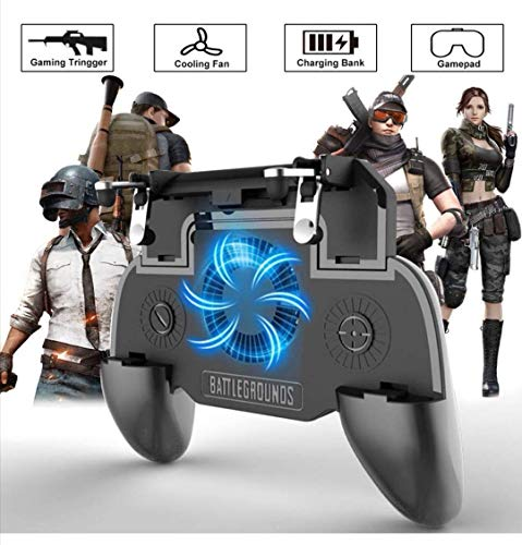 YouFirst Pubg Mobile Controller 2020[ 4000mAh | Newest Version] COD Mobile Controller | Pubg Controller | Mobile Trigger | Handy Controller Pubg | Pubg Trigger |
