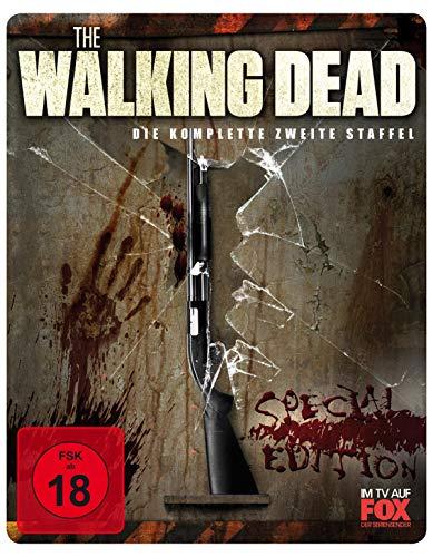 The Walking Dead - Staffel 2 (Uncut/Steelbook Limited Edition) [Blu-ray]