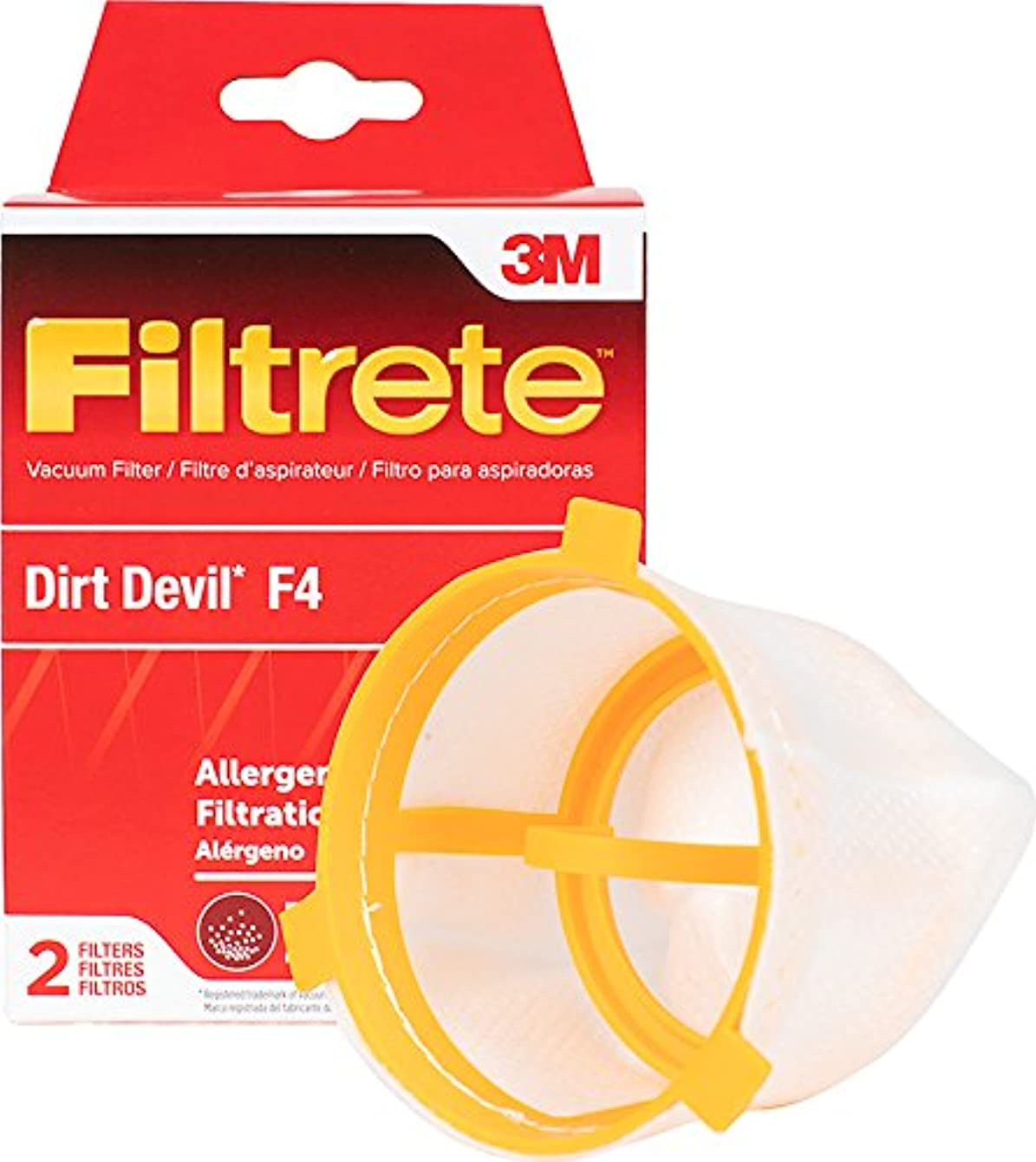 3M Filtrete Dirt Devil F4 Allergen Vacuum Filter