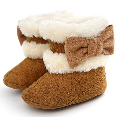 Roper Baby Girls American Patriot Western Boot, Brown, 3 Infant