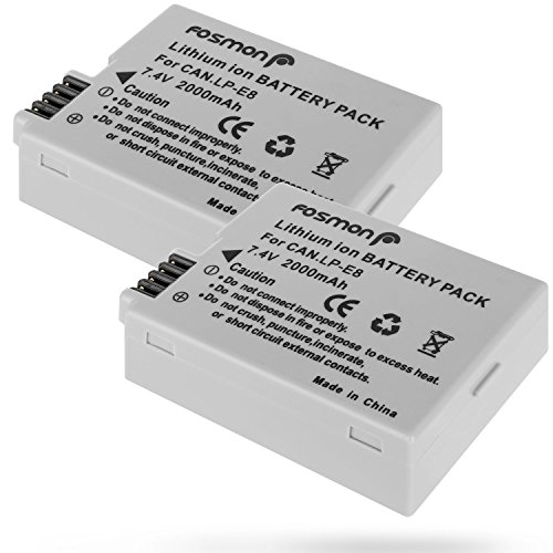Fosmon Premium Sony NP-FG1/NP-BG1 (3.7V/1400 mAh) High Capacity Replacement Rechargeable Li-on Type G Battery Pack for Sony Cyber-Shot W Series Cameras, 1 Pack