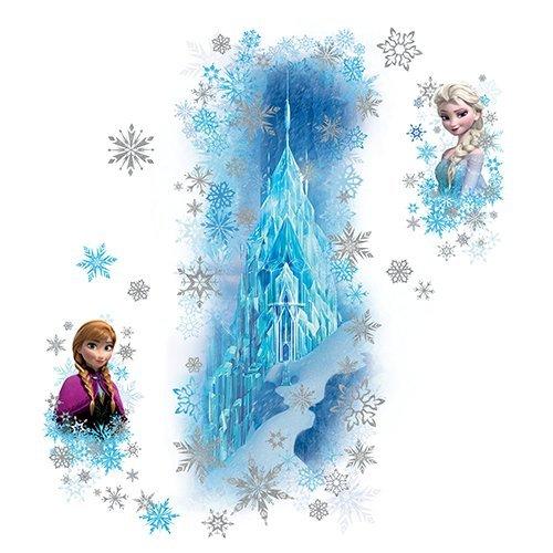 RoomMates Pegatinas de Pared Frozen Palacio de Hielo, Talla Estadounidense