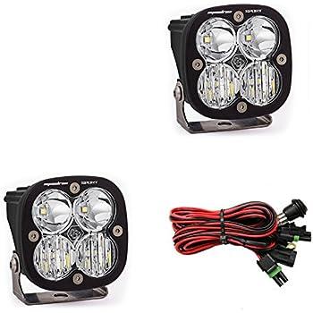 Baja Designs, 557803, LED Light, Squadron Sport, Black, Driving/ Combo, Pair