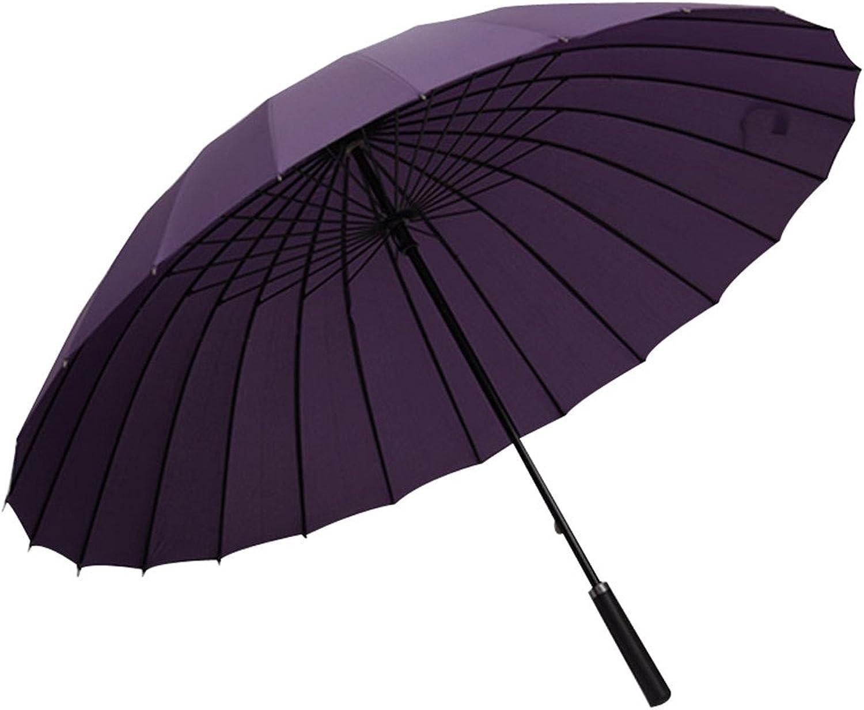 Yiyue 24 24 24 Im Allgemeinen, Long-Handled Dach Für Die Wut Von Wind Und Regen King-Größe Double Gerader Schaft, Klassische, Lange Der Frauen, 24 - Die Lila B07PDDKBBP 6c81a8
