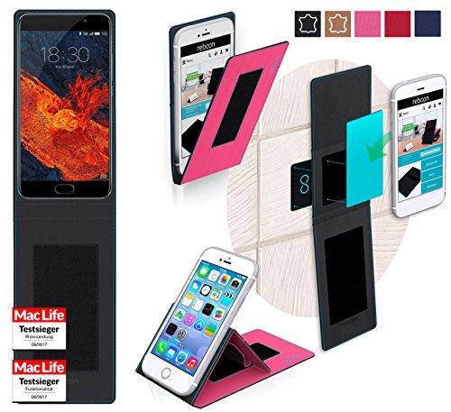 reboon Hülle für Meizu Pro 6 Plus Tasche Cover Case Bumper | Pink | Testsieger