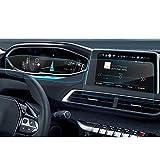 LFOTPP Peugeot 3008 5008 GT 8 Pulgadas Navegación Y Tablero de mandos Protector de Pantalla - 9H Cristal Vidrio Templado película protegida Glass