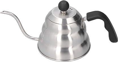 Rostfritt Stål Lång Smal Dropptapp Kaffe Tepanna Vintage Svanhals Tappkanna Köksredskap Häll över Vattenkokare Hushållsart...