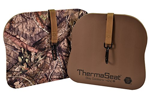 THERM-A-SEAT Predator XT Hunting Seat Cushion, Mossy Oak Break-Up Country, Large