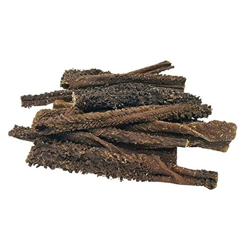 Snack deshidratado de Panza de Cordero para Perros (200g) | Tripa Verde 100% Natural | Sin Cereales | Formato Tiras | 2 bolsitas de 100g