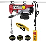 LIMICAR 2200LBS Overhead Lift Electric Hoist Crane Garage Ceiling Pulley Winch Remote Control Power...