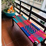 Best Bed Benches - JAE Wooden Colorful Bench | Sheesham Wood | Review