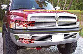 APS Compatible with 1994-2001 Dodge Pickup Main Upper Billet Grille Insert D85030A