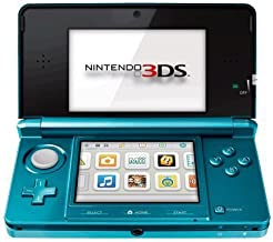 Nintendo 3DS Aqua Blue (Renewed)