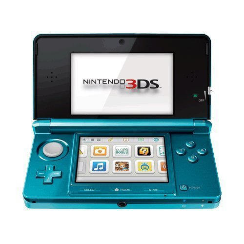 Nintendo 3DS Aqua Blue (Renewed)