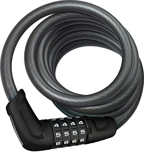 ABUS AB13415 Fahrradschloss Vorhängeschloss, schwarz, One Size
