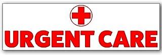 Urgent Care Vinyl Banner 10 Feet Wide by 3 Feet Tall