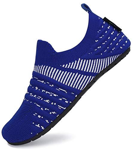 SAGUARO Zapatillas de Estar por Casa para Bebé Pantuflas Niños Zapatos de Interior Niñas Zapatos Infantiles Bebé Primeros Pasos Zapatos Cómodos Índigo Gr.22/23