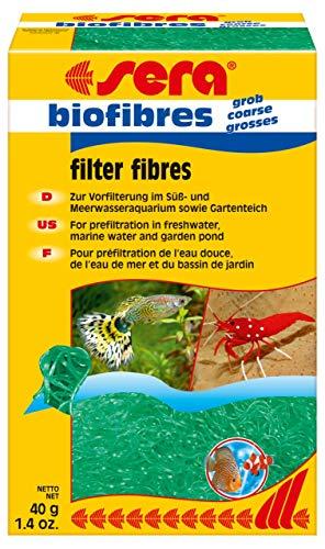 sera biofibres grob 40 g zur Vorfilterung grober Schmutzpartikel