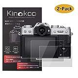 kinokoo Film de Verre trempé pour Fuji X-T30/X-T20/X-T10/X-E3/X-A2/X30/XF10 Film de Protection d'écran Crystal Clear Fujifilm...