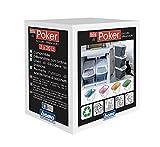Bama Poker Tris Set Mülltonnen für die Mülltrennung, Sortiert, 28x 40x 31cm - 6