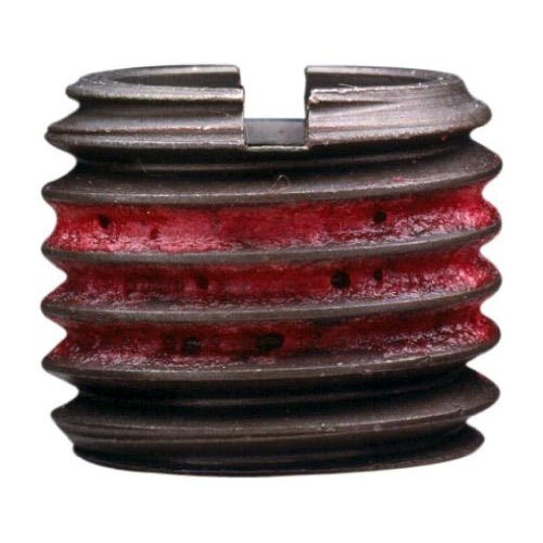 E-Z Lok Externally Threaded Insert, C12L14 Carbon Steel, M10-1.5 Internal Threads, 9/16