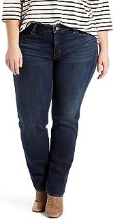 Women's Plus-Size Classic Straight Jeans