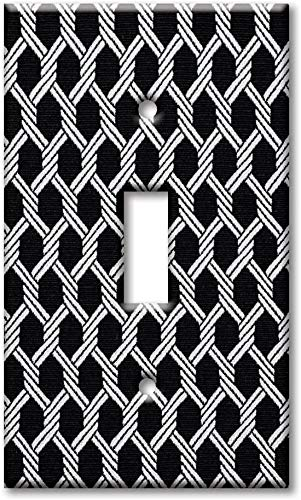 Placa de cubierta de luz de noche con interruptor de una sola banda, interruptor de gran tamaño/placa de pared de gran tamaño - Cadenas