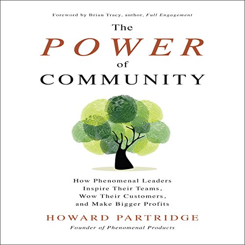 The Power of Community audiobook cover art