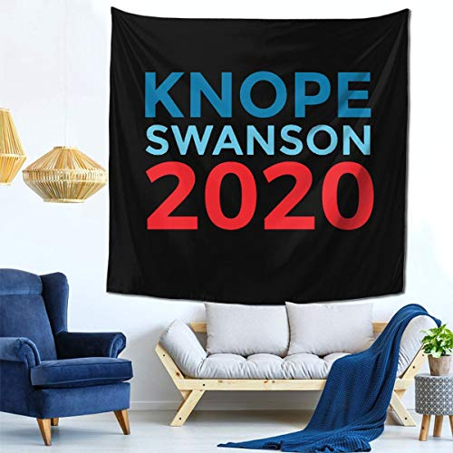 KATAXD Ron Swanson 2020 Election Parks and Rec Square Tapestry Tapestries for Furniture Wall Hanging for Dorms Bedroom Living Room Drawing Room Ceiling 59' X 59'