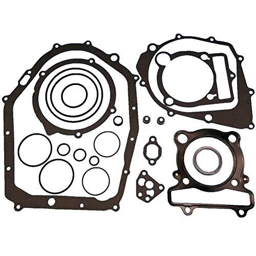Tuzliufi Complete Engine Rebuild Gasket Set Kit for Big Bear Bruin Moto-4 Warrior Kodiak Raptor 350 400 YFM350U YFM350ER YFM350R YFM350X YFM400FW YFM YFM350 YFM400 Top Bottom End Cylinder New Z478