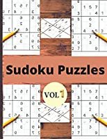 Sudoku vol 1: udoku puzzle book for adults and kids/Sudoku Puzzles Easy to Hard vol 1