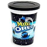 OREO mini galletas de chocolate rellenas de crema vaso 115 gr