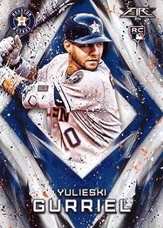 2017 Topps Fire Baseball #106 Yulieski (Yuli) Gurriel Rookie Card