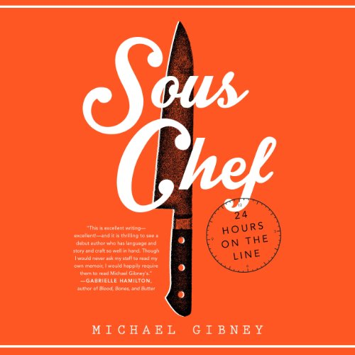 Sous Chef audiobook cover art