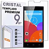 REY Protector de Pantalla para THL T6C, Cristal Vidrio Templado Premium